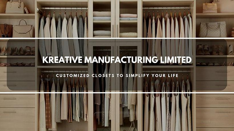 Custom Closets and Cabinet Maker in Brampton - Kreative Manufacturing